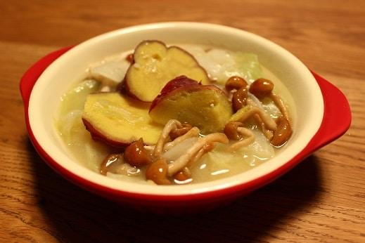 腸活レシピ1具だくさん味噌汁
